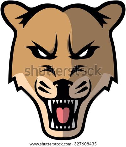 Menacing Panther Logo Design