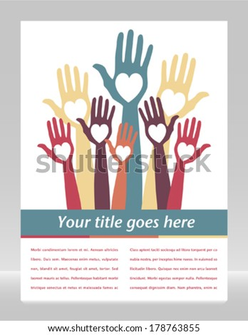 Count me in with copy space vector.  - stock vector