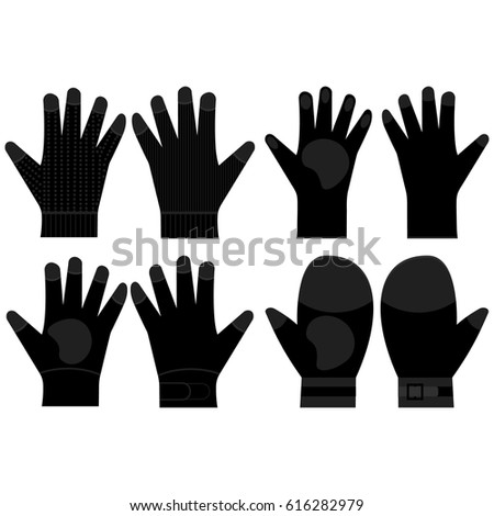 Black Rubber Gloves Stock Images Royalty Free Images