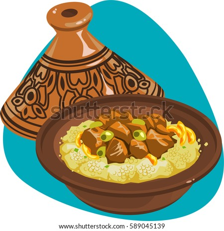 couscous banque d u2019images  d u2019images et d u2019images Fruit and Vegetable Border Basket of Fruits and Vegetables