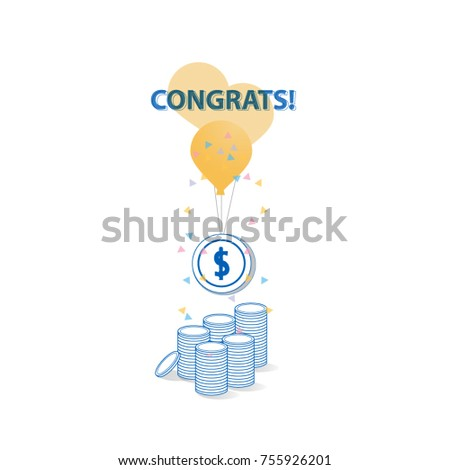 cover card reward celebration invitation party のベクター画像素材