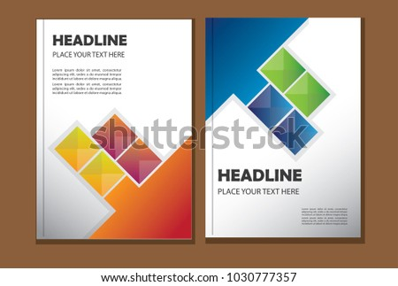 Cover designtemplate book report brochure vector stock vector cover designtemplate book report brochure vector business saigontimesfo