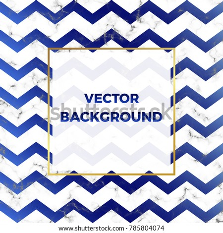 Cover Placard Marble Stone Texture Chevron Stock Vector 785804074 ...