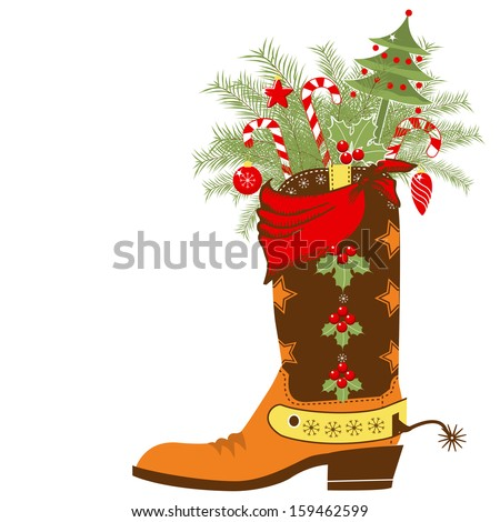 Cowboy Christmas Stock Images, Royalty-Free Images & Vectors ...