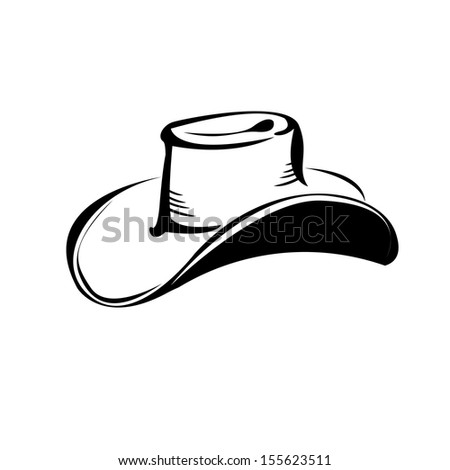 Cowboy Hat And Boot Silhouette Cowboy Hat Silhouette Vector