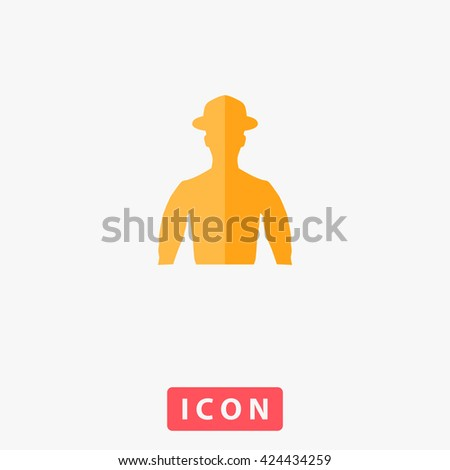 Cowboy Icon Vector. Cowboy Icon Logo. Cowboy Icon Picture. Cowboy Icon Image. Cowboy Icon Graphic. Cowboy Icon Art. Cowboy Icon UI. Cowboy Icon EPS. Cowboy Icon AI. Cowboy Icon Drawing - stock vector