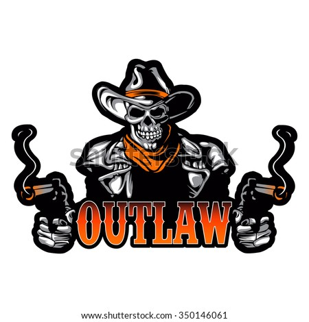Outlaws stock images royalty free images vectors for American outlaw tattoo