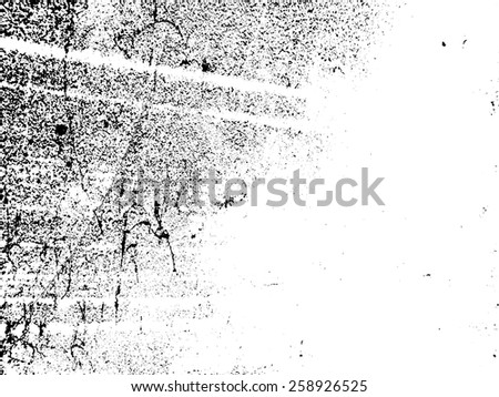 Cracked Texture . Distress Texture . Grunge Texture . Dirt Texture . Overlay Texture . Simply Place Vector Texture over any Object to Create Distressed Effect .  - stock vector