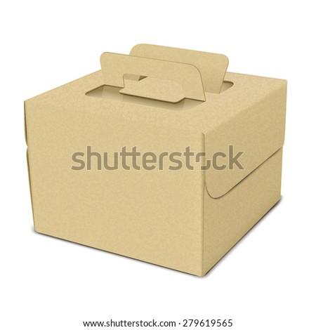 cake box vector 2