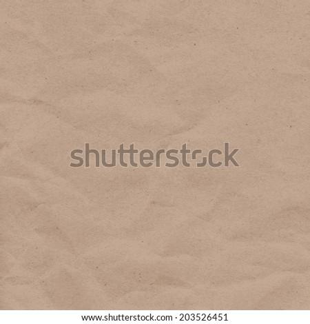 Craft paper texture - stock vector