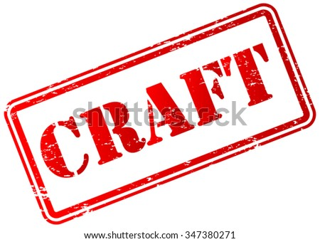 Craft Stamp Badge