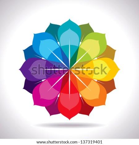 creative abstract design - stock vector