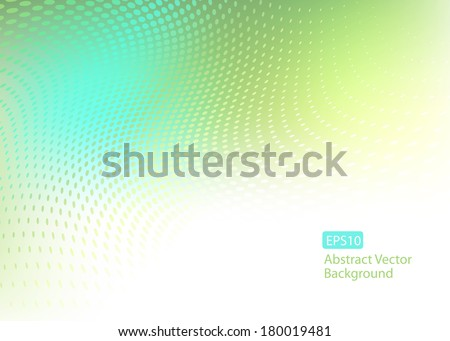 Creative abstract EPS10 vector background template with dot swirl overlay ...See my portfolio for more dot swirl templates.  - stock vector