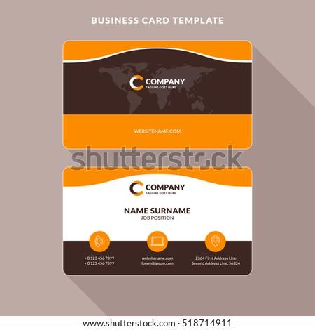 business card design stock vector 366385196 shutterstock. Black Bedroom Furniture Sets. Home Design Ideas