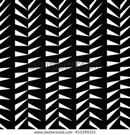 Creative attractive pattern of geometric shapes