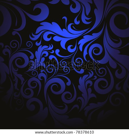 creative beautiful filigree pattern background, vector illustration - stock vector