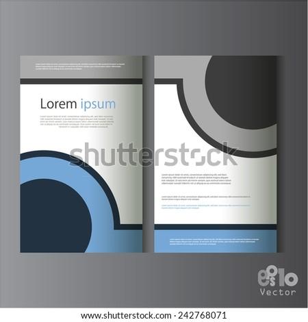Creative brochure design / flyer design, eps10 Vector. - stock vector