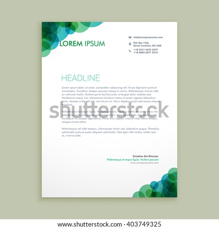 Business Letterhead Stock Images, Royalty-Free Images & Vectors