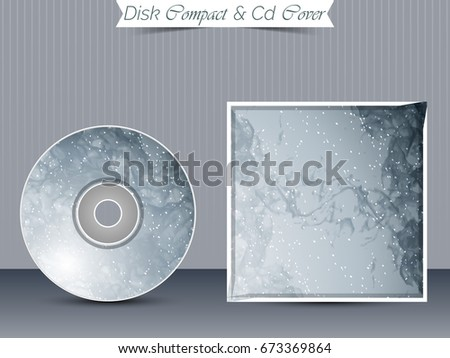 Creative Cd Dvd Case Design Template Stock Vector ...