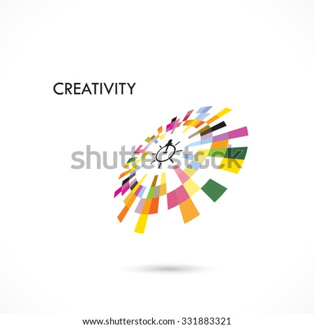 Creative circle abstract vector logo design template. Corporate business technology creative logotype symbol.Vector illustration - stock vector