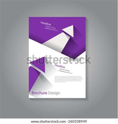 Creative flyer / brochure design, eps10 Vector. - stock vector
