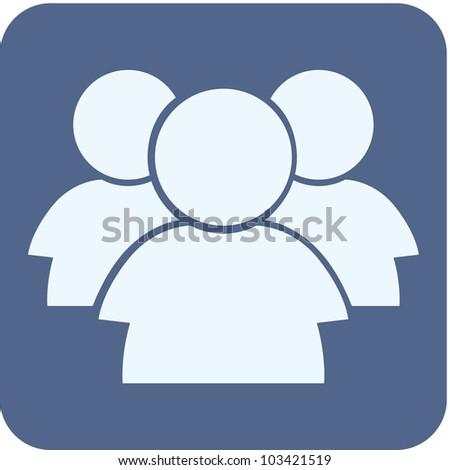 Creative Forum Icon - stock vector