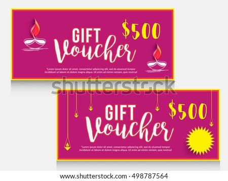 Creative gift voucher festival diwali celebration stock vector hd creative gift voucher festival diwali celebration stock vector hd royalty free 498787564 shutterstock negle Images