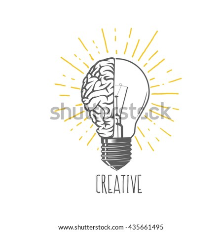 Creative idea - stock vector