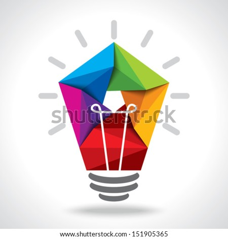 creative idea vector - stock vector