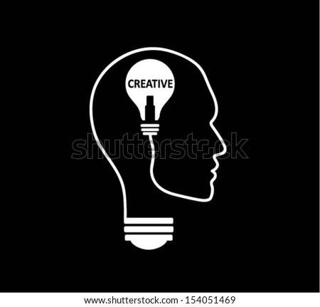 Creative Idea. vector - stock vector