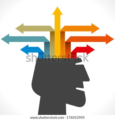 creative info-graphic  concept vector - stock vector