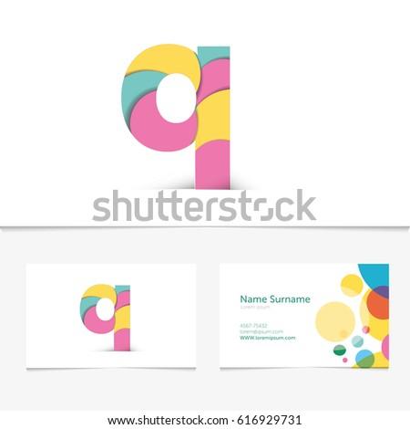 Creative Letter Q Design Vector Template Stock Vector 616929731 ...