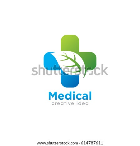 Medical Pharmacy Logo Design Template Vector Stock Vector ...