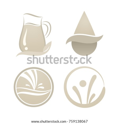Creative Milk Logo Symbol Milk Business Stock Vector Hd Royalty