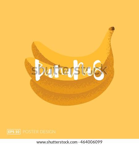 Banana Poster Stock Images, Royalty-Free Images & Vectors ...