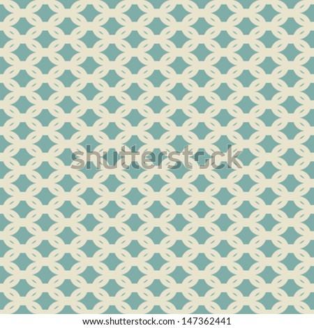 creative retro link design pattern  - stock vector
