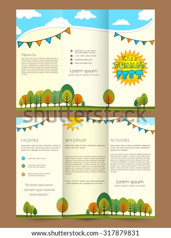 3 Fold Leaflet Stock Images, Royalty-Free Images & Vectors ...