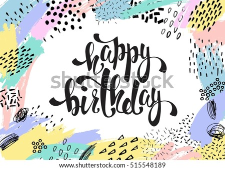 Happy Birthday Poster Stock Images, Royalty-Free Images & Vectors ...