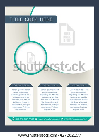 creative vector design for Corporate Flyers with nice and creative background.
