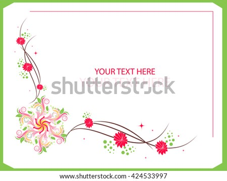 creative vector floral frames nice creative stock photo photo