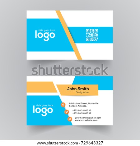Creative vector visiting card template office stock vector 729643327 creative vector visiting card template for office fbccfo