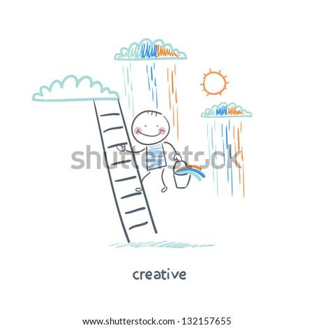 Creatives - stock vector