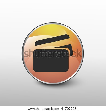 credit card icon. credit card sign