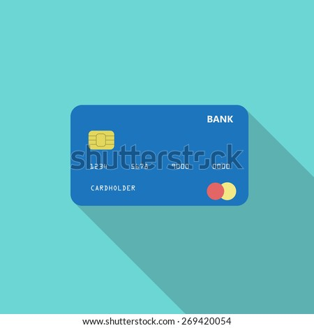 Credit Card Online Payment Cash Withdrawal Stock Vector 269420054 ...
