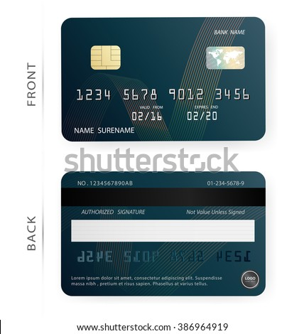 blank credit card stock images royalty free images vectors shutterstock. Black Bedroom Furniture Sets. Home Design Ideas