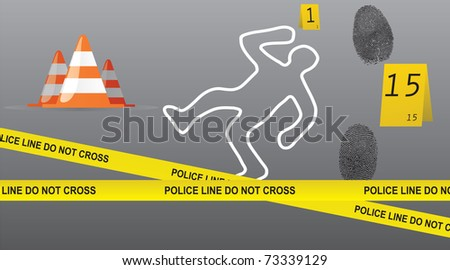 Crime Scene Vector Collection