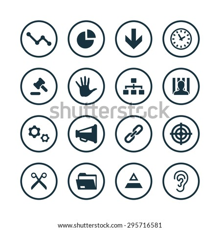 crisis icons universal set for web and mobile
