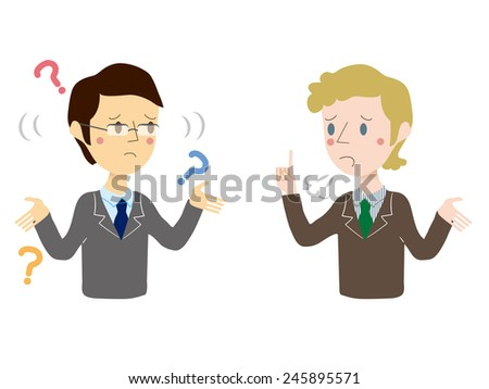 Cross-cultural communication - stock vector