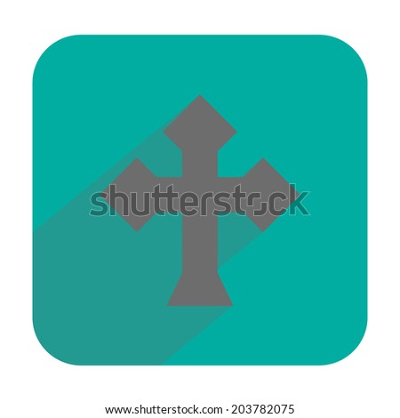 Cross icon - stock vector