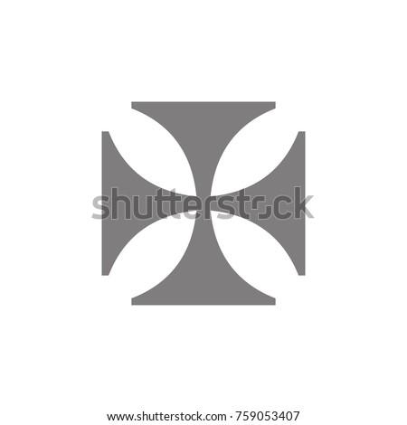 Cross Knights Templar Icon Web Element Stock Vector Hd Royalty Free